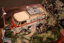 modeling dioramas