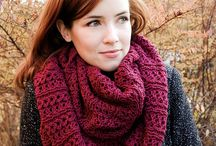 knitted scarves and cowls patterns