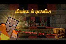 [Minecraft] Timidouveg sur serveur Minecraft / Ma série Minecraft sur mon serveur où je construis des machines, décors et structures en donnant des astuces et en faisant des petites mises en scènes :)