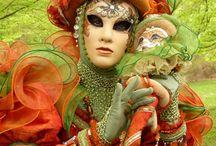 Venetian Masks / by Nancy Gallagher