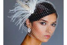 Birdcage veils / Chic, sexy, thoroughly modern: the birdcage veil is back!