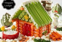 Déco fruits et légumes / art cullinaire