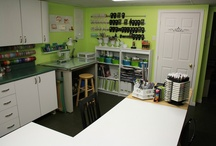 CRAFT Room ideas / by Barbara's CreativeTouch