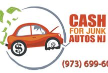 Cash for Junk Autos NJ Trade Marked Logos / Cash for Cars Trade Marked Logos