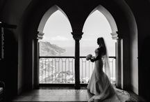 Amalfi Coast Wedding / Overlooking the Mediterranean Sea on your wedding day is a dream come true!