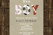 Sports baby shower / by Arianne Stout
