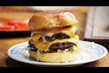 Crazy, simple, delicious, Burgers