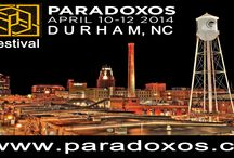 Paradoxos / Paradoxos Durham NC Art, Culture, Music and Startups Festival April 10 - 12. Pinterest board sponsored by CrowdFunde. Follow the board to be able to pin.  / by Martin (Marty) Smith