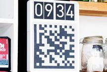 Códigos ubicuos / Código: Norma para convertir un fragmento de información en otra forma de representación, no necesariamente del mismo tipo. / by Robobito