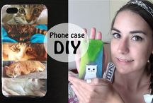 iPhone Stuff / DIYs, tutorials iPhone/smartphone related. Cover, organizer and other practical ideas for your phone