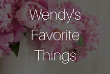 Wendy's Favorite Things / Beauty In The Bag's Editor In Chief, Wendy Lewis shares her favorite things!
