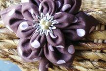 fleur en tissu