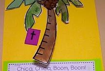 Book activities- chicka chicka boom boom