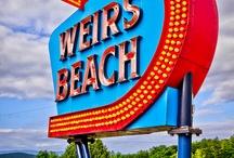 Enseignes vintage aux USA / Enseignes vintage et néons des USA - motels, cinemas, diners, bars, restaurants... Pour les amoureux des années 50 américaines !