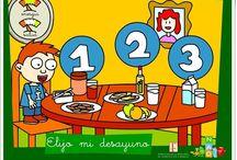 Día de la Alimentación (16 de octubre) / Conjunto de juegos, actividades y materiales educativos para el aprendizaje sobre la alimentación.