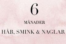 6 MÅN - Hår, smink & naglar