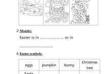 Easter - English