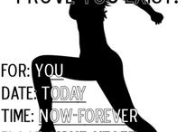 fitness / by Angela Del Rosario