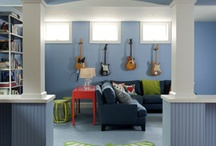 Basement Re-do / by Jessica Thornton