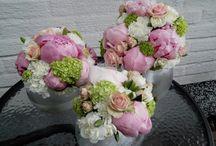 Brudbuketter, tittis blomstudio / hjärta