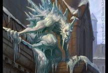 Fantasy creatures - various