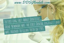 Dental Fun Facts - Glendale Dentist / Visiting your dentist in Glendale and talking about dentistry doesn't always have to be boring! Check out these super fun and interesting facts below about everything dentistry.