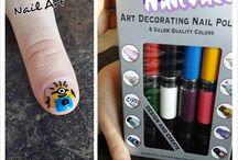 Funky Nail Designs / nail art, nail designs