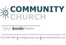 Religious & Spiritual Business Card Templates