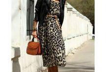 леопардовая принт