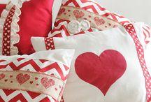 Poduszki Walentynki