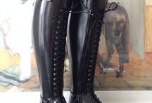 BIA / A stunning boot with a distinctly European feel. Available in the reinforced dressage boot or in soft leather.