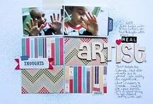 "Fresh Picked Kit - Scrapbook Circle / Design Team layouts using the October 2011 kit, ""Fresh Picked"""