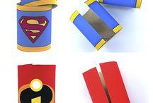 Superheroes / by SCRAP Bin