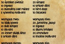 Workout Ideas / by Courtney Elizabeth