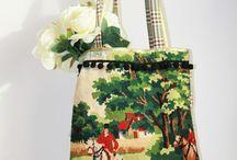 Haftowane torby- inspiracje;)