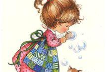 Kisgyerek illusztrációk