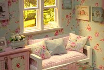 wallpaper shabby