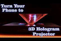DIY Hologram Projector