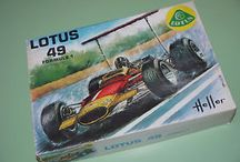1:24 Scale model F1 cars