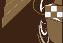 Desert couture - graphic work-