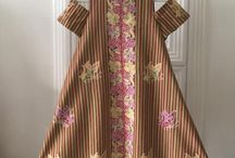 model dress tenunan