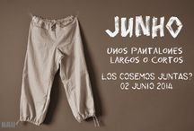 ✄ Pants patterns / by El Ropero De Mi Tia