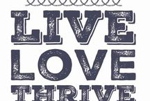 The Thrive life / Health & Wellness, great nutrition and inspiration to stay on track