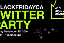 Target Canada #BlackFridayCA Twitter Party / Join us November 25, 2014 8:45pm - 10:00pm E