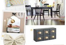 Home Inspiration: Kid Space / Kid's bedrooms, playrooms, and nurseries.