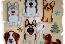 поделки собаки