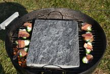 A few Reviews & Testimonials / A few reviewers and blogger review our grilling stones. Here you will find some of their pics, quotes and links.