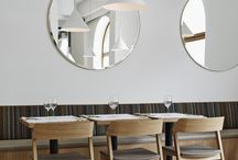 Interiors: cafes and restaurants
