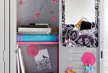 Laura's locker ideas / by Abby Beattie