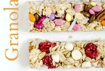 granola health bars and snacks